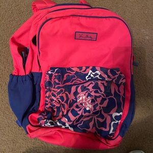 Vera Bradley Backpack Large Katalina Pink